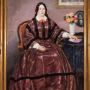Painting of Martha Cook