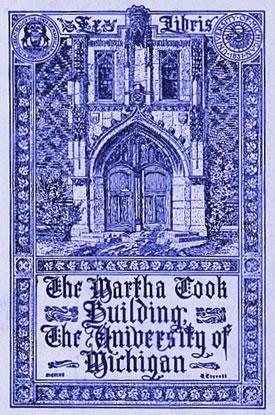 Martha Cook Building poster