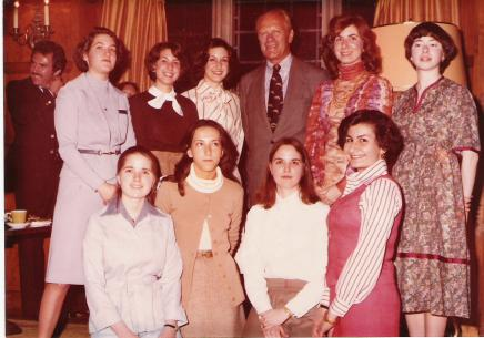 photo President Ford at MCB